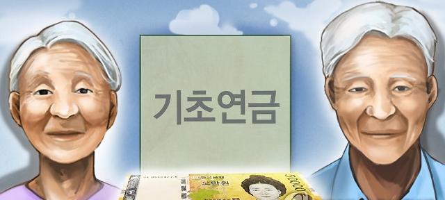 韩国低收入下游70%老人的基础养老金上调1.5%