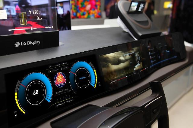 LGD, 차량용 디스플레이 1억대 판매···축구장 200배 크기