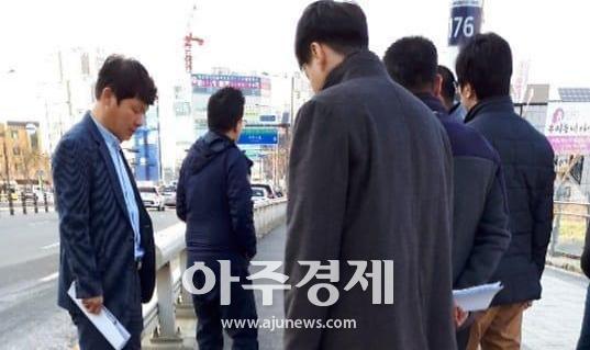 하남시의회 오지훈·정병용의원  미사지구 합동점검