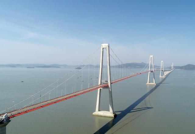韩第四大海上跨径桥开通