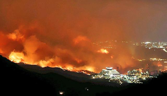 금융권, 강원도 고성·속초 등 산불 피해 지역에 긴급 지원