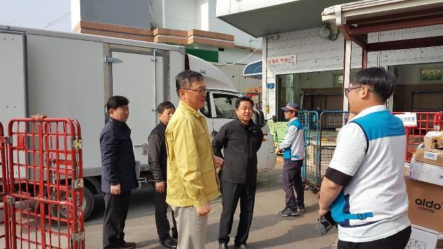 우본, 산불 피해 강원 지역 우편물 긴급점검