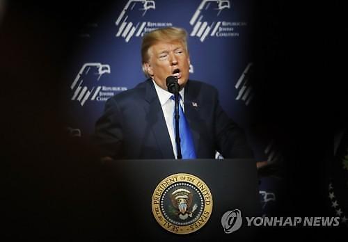 트럼프, 김정은과 좋은 관계...올바른 합의 있어야