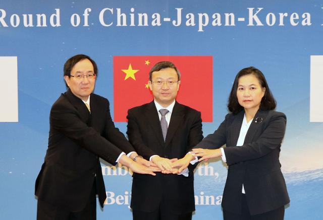 제15차 한중일 FTA 협상 9~12일 도쿄서 개최…상품·서비스 시장 개방 등 논의