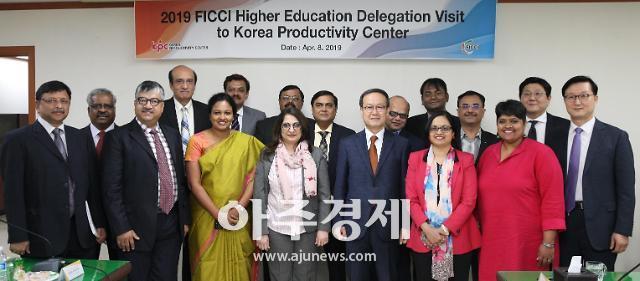 인도 정부 연수단, 한국생산성본부 방문…교육·컨설팅 사업 벤치마킹