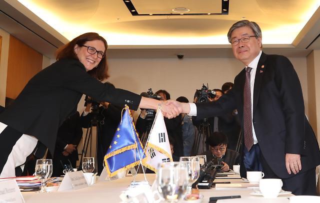 塞西莉亚·马尔姆斯特伦访韩 欧盟敦促韩国达成ILO核心协议