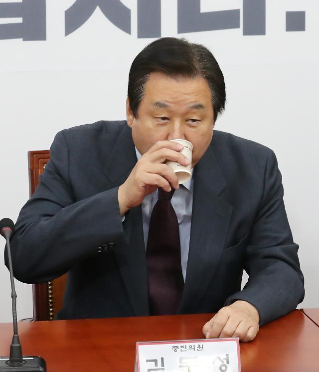 """김무성 """"국민연금 이사 재선임 저지...조양호 회장 빨리 죽게 만들어"""""""