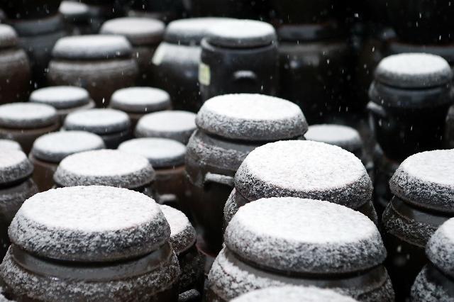 江原道4月暴雪