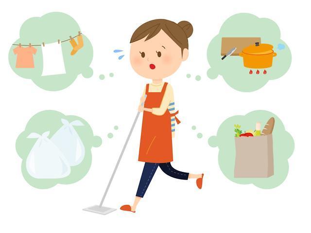 韩双职工家庭怎么做家务?女性平日家务时间是男性7倍多
