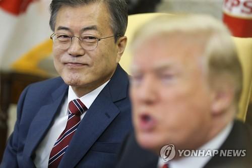 """외신 """"한미 정상회담, 비핵화 교착 상태 해소 기대"""""""