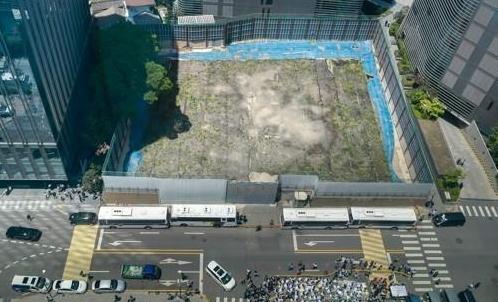 日本驻韩大使馆新建馆舍施工许可被取消