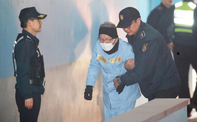 '화이트리스트' 김기춘 2심도 실형…조윤선 집행유예