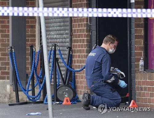 [글로벌포토] 멜버른 총격에 최소 1명 사망