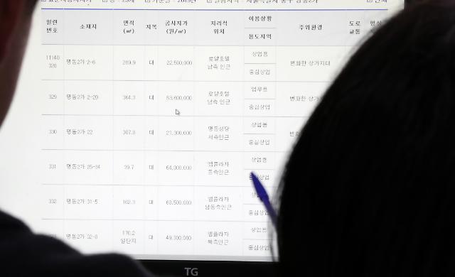 서울시 2019년도 개별공시지가 열람하세요
