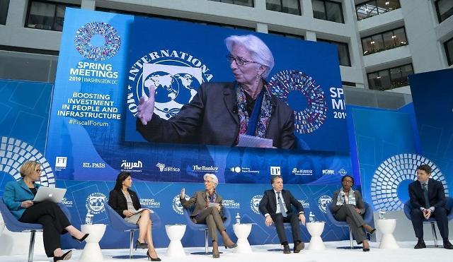 IMF建议韩国德国和澳大利亚启动经济扶持政策