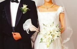 .调查:韩国仅逾一成未婚男女认为必办婚礼.