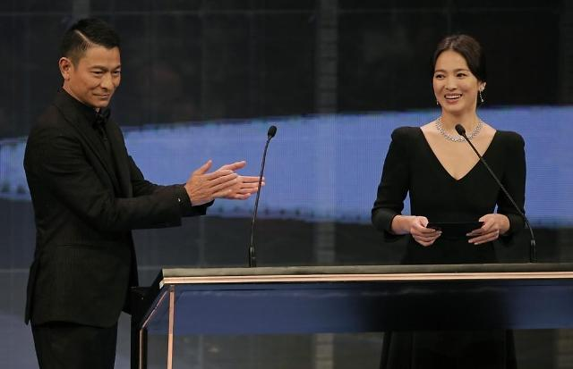 宋慧乔签约王家卫公司走近华语电影