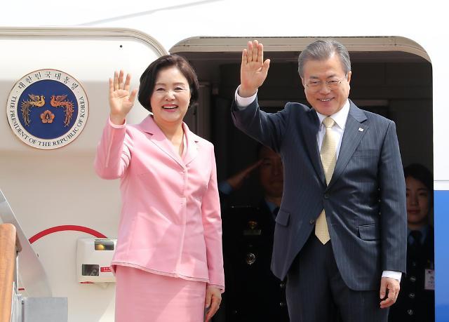 韩国总统文在寅出访中亚三国 扩大新北方政策合作国范围