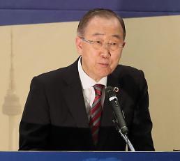 .潘基文:韩中治霾携手比指责重要.