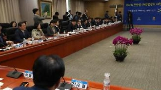 민주, 인천시와 예산정책협의회…예산 투어 마무리
