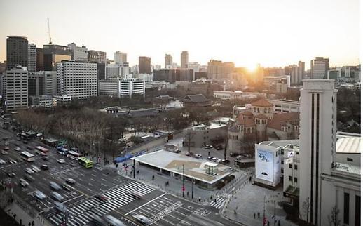 총독부 체신국 건물 터에 시민공간 서울마루 개장