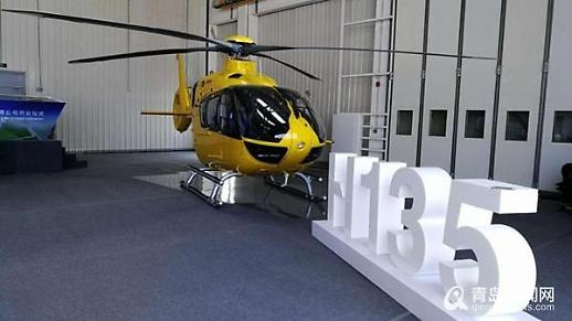 [중국포토]에어버스, 中 최대 민간용 헬기시장 노린다...18대 첫 생산 예정