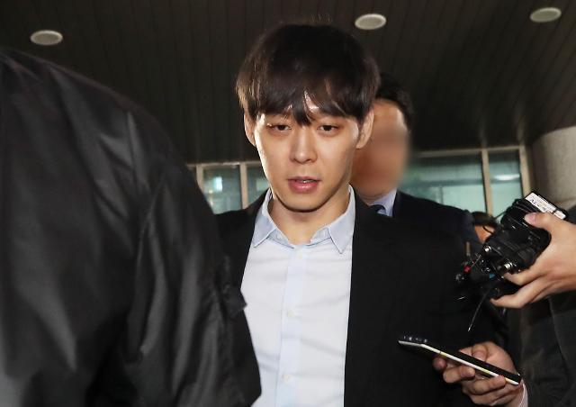 """박유천 마약 구매 정황 찾았다…경찰 """"CCTV 영상 확보"""""""