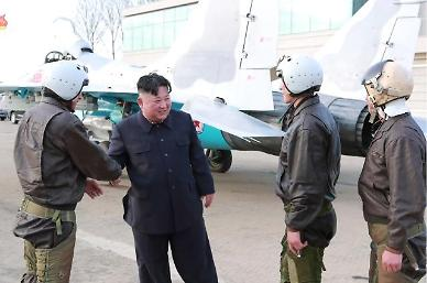N. Korean leader supervises test firing of new tactical guided weapon