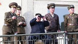 .金正恩指导新型战术制导武器射击试验.