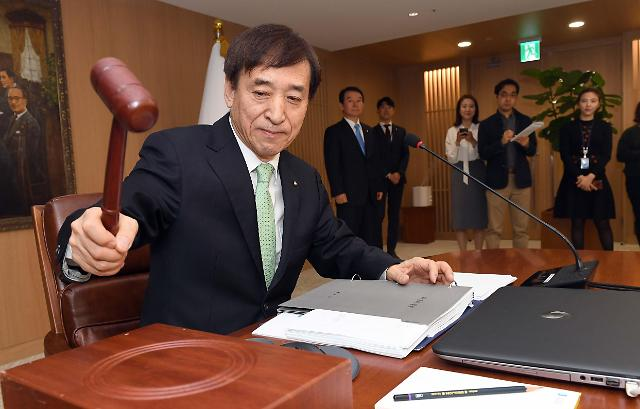 韩央行维持基准利率1.75%不变