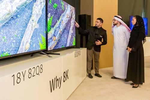 三星电子QLED 8K电视登陆中东市场