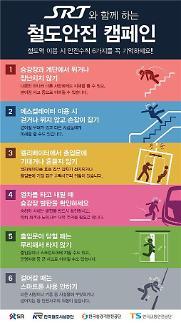 SR 철도교통 안전의 달 맞이 철도안전 캠페인 실시