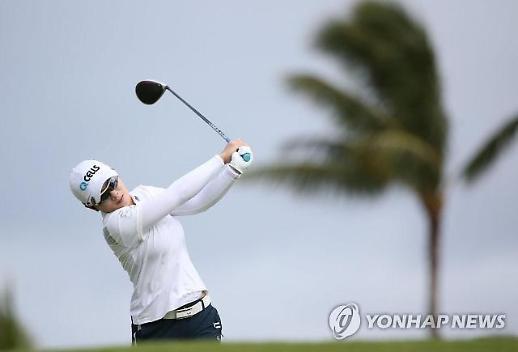 지은희, LPGA 롯데 챔피언십 첫날 2위 출발…최혜진 '돌풍 예고'