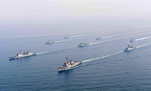 """韩国""""京畿""""号护卫舰将参加青岛国际阅舰式"""