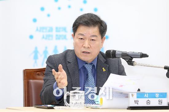 """박승원 광명시장 """"구로차량기지 이전계획 당장 중단 원점에서 협의해야"""""""