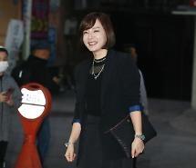 [포토] 열혈사제 종방연에 참석하는 배우 유경아