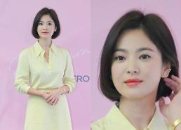 [슬라이드 화보] 송혜교, 남편 송중기가 빠져든 우아한 미모 (베디베로)