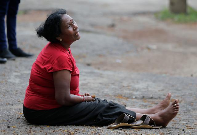 [슬라이드화보] 반인륜적 테러, 슬픔에 젖은 스리랑카 국민들