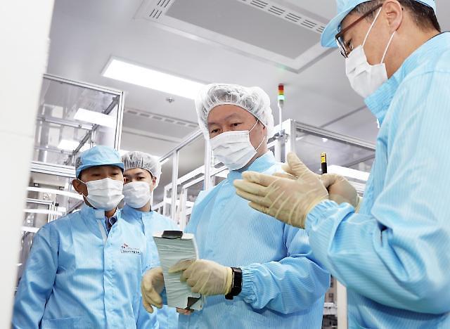 """SK集团总裁崔泰源访问瑞山工厂 表示""""将打造新能源龙头企业"""""""