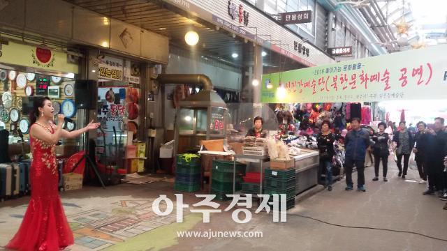 4.27 남북정상회담 기념, 탈북민 예술단공연