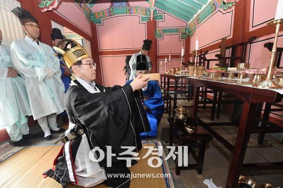 경기 광주시, '춘계 현절사 제향' 거행