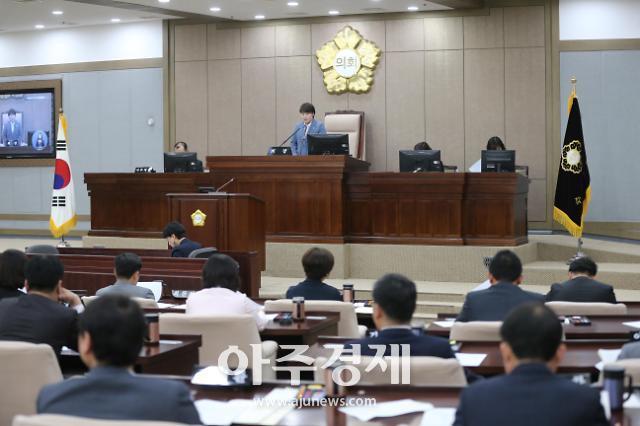 수원시의회, 제343회 임시회 개회...15건의 안건 심의·의결
