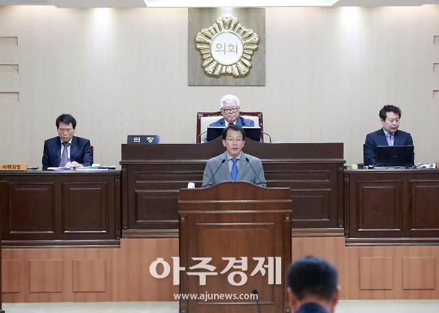 영양군의회, 한국전력공사 영양지사 통폐합 철회 촉구 결의안 채택
