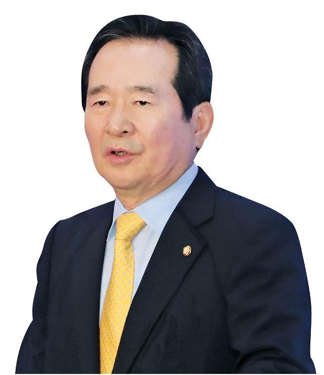 """정세균, 김홍일 전 의원 빈소 방문…""""동지 잃은 슬픔 매우 크다"""""""