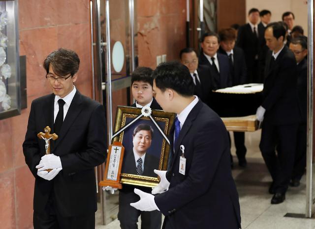 [포토] 고 김홍일 전 의원 발인식