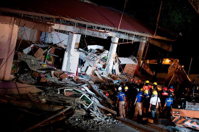 필리핀 지진 탓 클락공항 폐쇄, 클락-인천공항 이착륙 항공편 연이어 결항