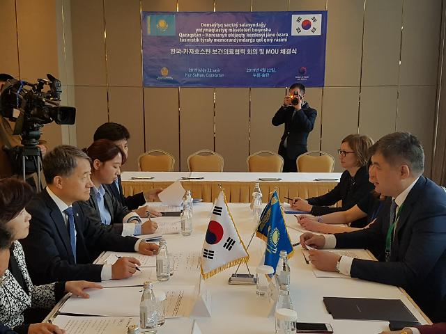 박능후 장관, 중앙아시아 3개국과 보건의료 협력 기반 다졌다