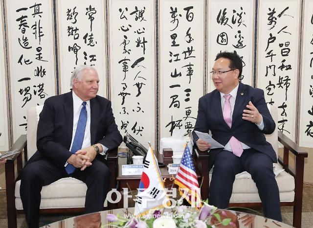 충남도의회, 미국 펜실베니아주의회 대표단과 교류협력 방안 논의