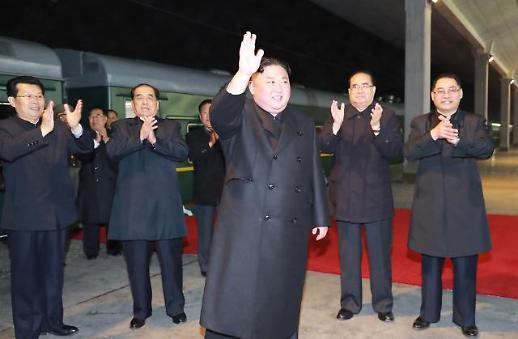 [포토] 러시아로 출발하는 김정은