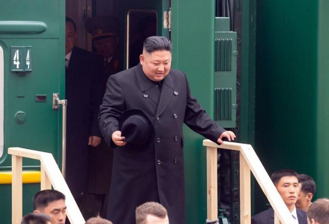 金正恩乘坐专列抵达俄罗斯 朝俄首脑会谈明日举行